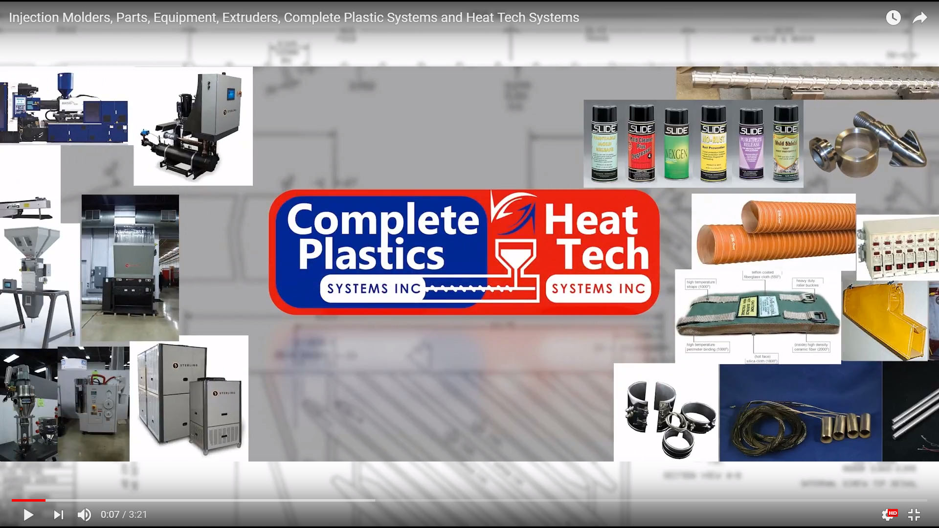Injection Molding | Slide Products | Sterling ACS Equipment